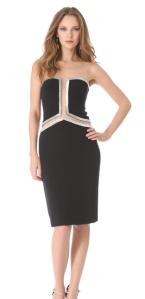 Reem Acra Beaded Cutout Dress - USD$4,995