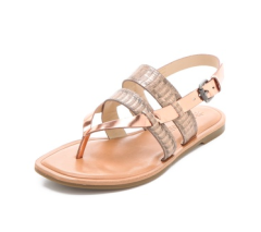 Vera Wang Annie Metallic Sandals - USD$198.00