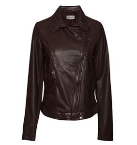 Jigsaw leather jacket - $599
