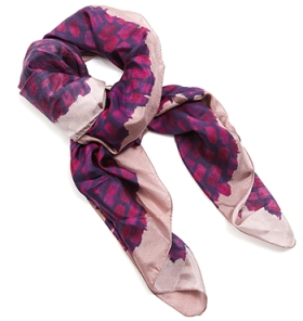 Jigsaw Brush Stroke scarf -  $129