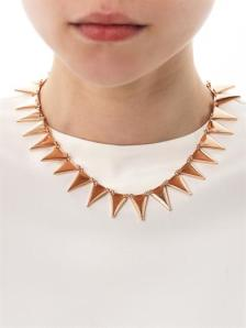 Eddie Borgo flat spike necklace - AUD$350