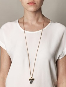 Givenchy shark tooth necklace - AUD$550