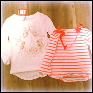 Witchery Kids - extra 20% off sale items. Down to $15.96 for the white shirt and $19.96 for the striped shirt