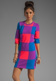 Colour block much?! Marc by Marc Jacobs sweater dress - AUD$281