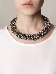 Alexander McQueen Bee Crystal choker necklace - AUD$2,565