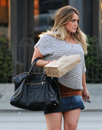 Hilary Duff out on Valentine's Day